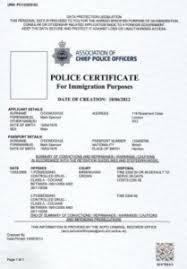 clearance certificate sample police certificate theinfohub by unlock for people with