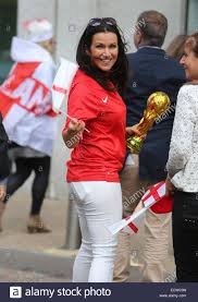 Charlotte Flag Football Susanna Reid And Charlotte Hawkins Filming A Football Song Outside