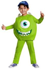 Infant Boy Costumes Halloween Coolest Homemade Mike Wazowski Unique Boy U0027s Halloween Costume Idea
