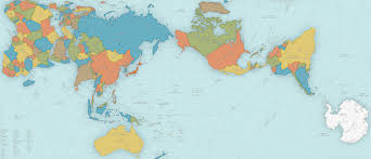 map new this map of the world just won japan s prestigious design award