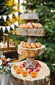 Backyard Wedding Food Ideas Fun Food Display Idea Fabulous Fall Weddings Pinterest Food