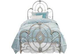 Disney Princess Bedroom Furniture Set by Disney Princess Enchanted Kingdom Iron 2 Pc Twin Panel Bed Beds
