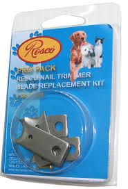 amazon com resco nail clipper blade replacement kit fits all