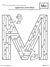 letter m do a dot worksheet myteachingstation com
