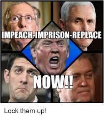 Face Replace Meme - impeach imprison replace now lock them up meme on me me