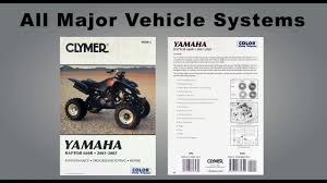 haynes and clymer atv utv repair manuals sixity com