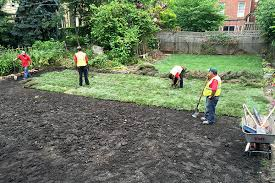 How To Regrade A Backyard Backyard Regrading Day 2 Lots Of Guys Lots Of Sod Avoision