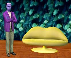 mod the sims lips sofa recolors