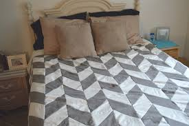 Duvet Cover Diy Remodelaholic 25 Herringbone Projects For Your Home