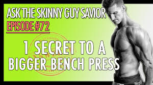 how to increase your bench press bench press tips youtube