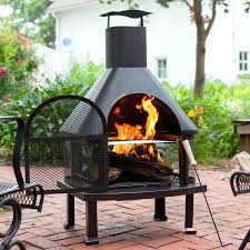 Homemade Chiminea Homemade Fire Pit With Chimney Outdoor Fire Pit Chimney Hood