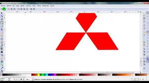 logo de toyota tutorial de como hacer el logo de mitsubishi motors youtube