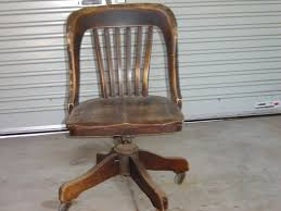 Office Rolling Chairs Design Ideas Antique Oak Office Chair Swivel Wooden Chairs With Casters