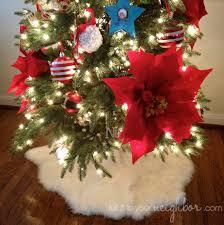 Poinsettia Christmas Tree Skirt Tell It To Your Neighbor December 2012