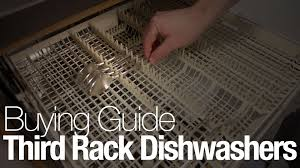 Kitchenaid Dishwasher Utensil Holder Video The Benefits And Disadvantages Of A Third Rack Dishwasher