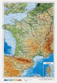 Russia Physical Map Physical Map by Detailed Physical Map Of France In Russian Vidiani Com Maps Of