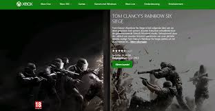 siege xbox one rainbow six siege install size on xbox one revealed