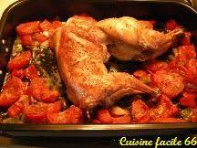 cuisiner lapin entier lapin rôti à la catalane recette cuisine facile 66
