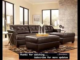 Leather Chaise Couch Leather Sofa With Chaise Sectional Sofa Ideas Romance Youtube