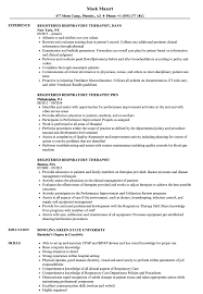 respiratory therapist resume exles registered respiratory therapist resume sles velvet