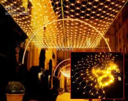 decoration lights for party meshwork l 800 led net lights 3m 6m curtain light xmas string