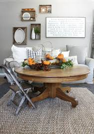 end table decorating ideas autumn decorated living room end table meliving 0346d3cd30d3