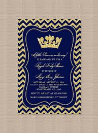 Brooklyn Baby Shower - prince baby shower invitation little boy prince crown royal