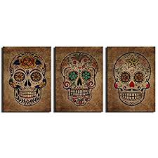 Skull Decorations For The Home Amazon Com Poster Service Flower Skull Poster 24 Inch By 36 Inch