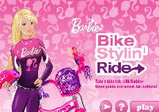 barbie cursa cu bicicleta jocuri cu barbie