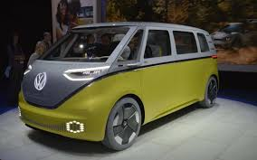 volkswagen minibus electric detroit show volkswagen camper goes electric news the car expert