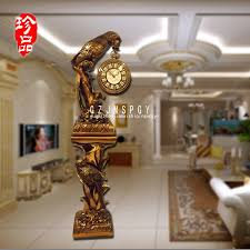 lai sheng creative antique grandfather clock mute stand luxury