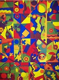 cubism colours 4th grade complimentary color wheel projects color