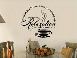 kitchen wall decals roselawnlutheran tea coffee stickers vinyl wall decal words kitchen