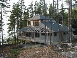 hillside cabin plans architect llc hillside house