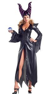 Scary Womens Costumes Halloween Faux Leather Halloween Scary Women Devil Costume Carnival Party