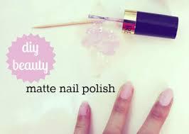 diy beauty matte nail polish college fashion