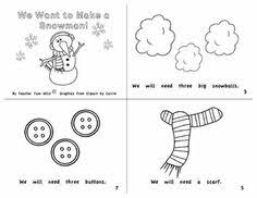 100 picture pre k winter math worksheets with winter song and