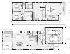 boronia small lot house floorplan by http www buildingbuddy