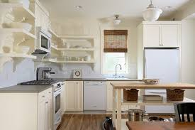 Open Shelves Kitchen Open Shelving Vs Cabinets With Doors