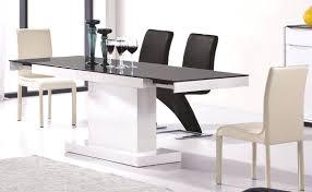 modern extendable dining room sets lexington expandable mid