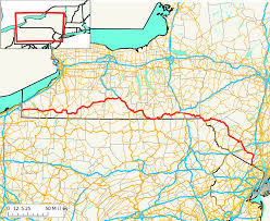Pennsylvania Map Cities by New York State Route 17 Wikipedia