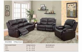 White Recliner Sofa Furniture Gray Leather Beautiful Living Room Recliner Sofa