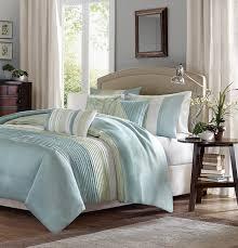 Blue King Size Comforter Sets Amazon Com Madison Park Amherst 6 Piece Duvet Set King Green