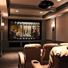 Basement Media Room Tapas In A Basement Media Room Perfect For The Family To Chill