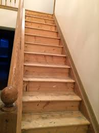 Hardwood Flooring On Stairs Diy Stairs Carpet To Hardwood Young Ohio Preservationists
