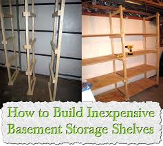 Wooden Storage Shelves Designs by How To Build Your Own Canning Shelves
