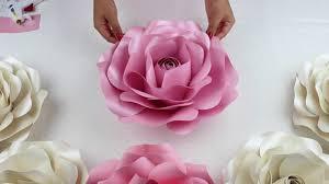 paper roses diy tutorial large size paper