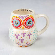 owl mug don t forget to be awesome folk owl mug from