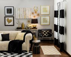 Black And Gold Room Decor Gold And Black Living Room Accessories Thecreativescientist