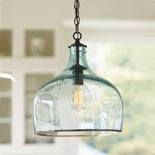 Pendant Lighting Glass Shades Awesome Blue Glass Pendant Light Black Mini Pendant Light With